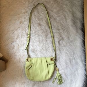Vince Camuto 100% Genuine Leather crossbody bag.
